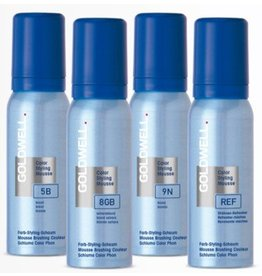 Goldwell P  Goldwell Color Styling Mousse bus 75ML Parelgrijs