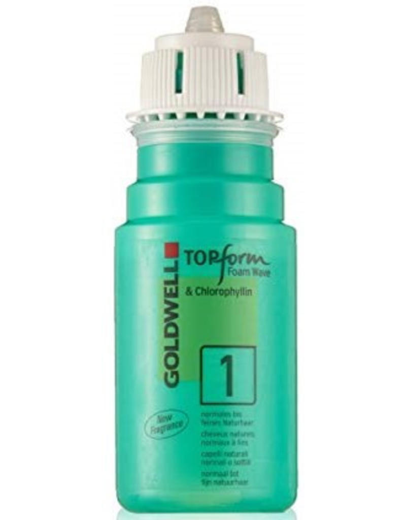 Top Form Goldwell Top Form Foam Wave 90ml nr 1 Normaal