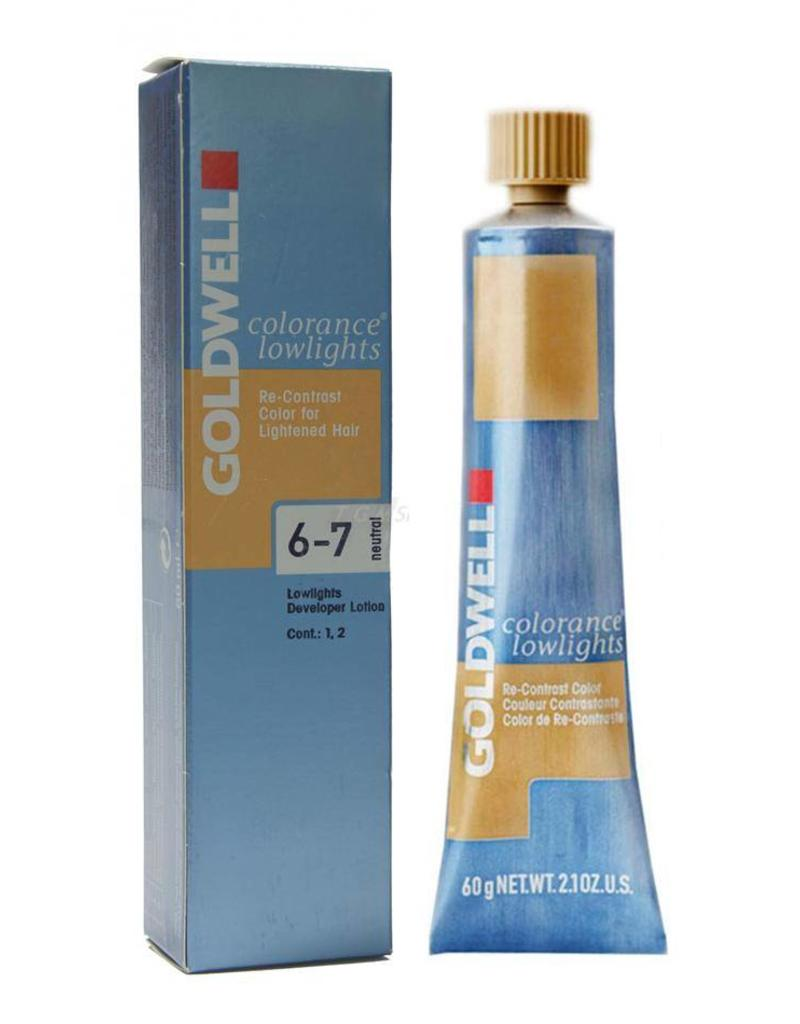 Goldwell 6  Goldwell Colorance Lowlights tube 60ml Neutraal