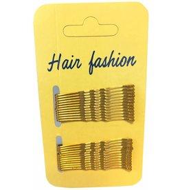 Haarschuifjes Blond 5cm 24 op kaart