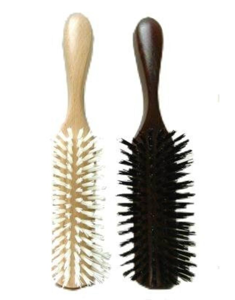 Borstel Ascot hout 21.5cm Mixed Hair
