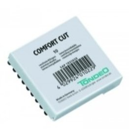 Tondeo Tondeo Comfort Cut insteek mesjes 10st