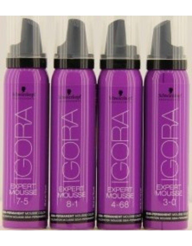 igora 5.99   Igora Expert Mousse 100ml  Licht Bruin Violet Extra