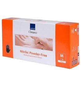 abena Nitrile Handschoen Ultra Sensitive. M 100st Zwart