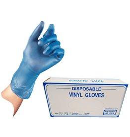 Vinyl Gloves gepoederd maat M ds a 100st.
