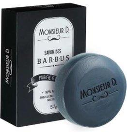 barburys Monsieur D Baard Zeep Nourishing&Purifying 57gram