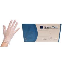 Abena Vinyl Handschoen Poedervrij L 100st  CATIII