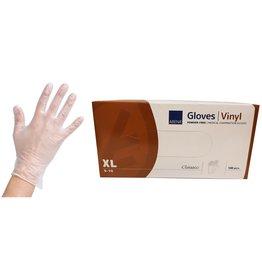 Abena Vinyl Handschoen Poedervrij XL 100st CATIII