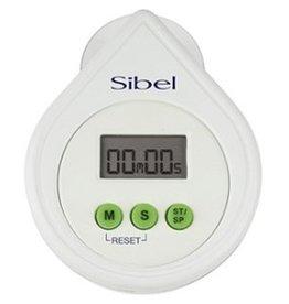 sibel Timer Electronic digitaal wit