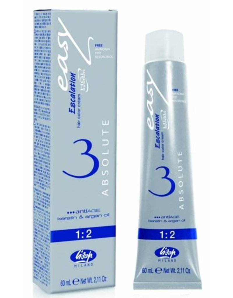 Lisap Absolute 11.21 Lisap Absolute 3 verf tube 60ml.Extra L.Crystal Blond