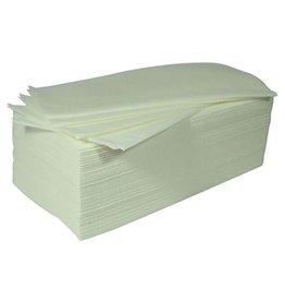 Profistar Wegwerp handdoeken wit 100 stuks 40x70cm