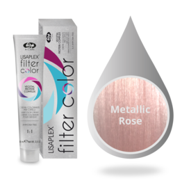 Lisaplex Lisaplex Filter Color 100ml. Metallic Rose effect