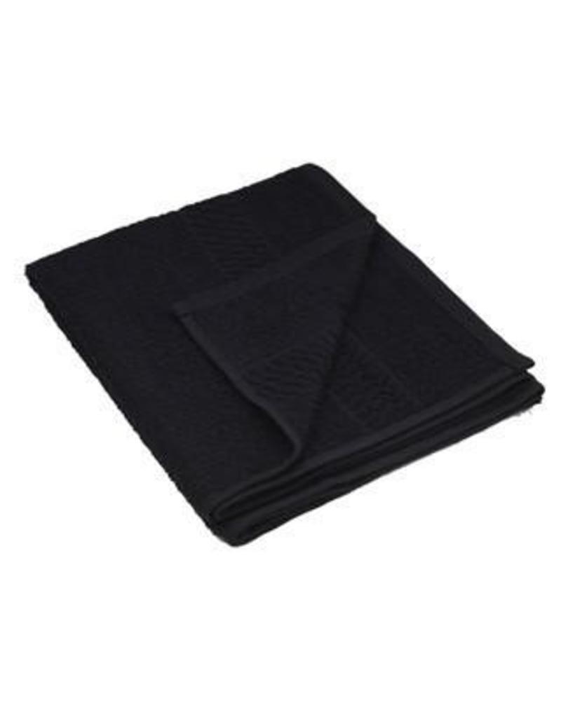 Bob Tuo Kappers Handdoek 50x85cm zwart