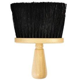 Efalock Nekkwast  Zwart Natuurhaar Efalock h=14cm