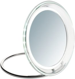 Led Mirror Roma round d=19cm 5x vergrotend