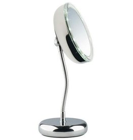 Led Mirror Lisboa Round d=13cm 3xvergrotend