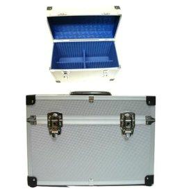 Beauty Case Alu  Zilver b38xd20xh27cm
