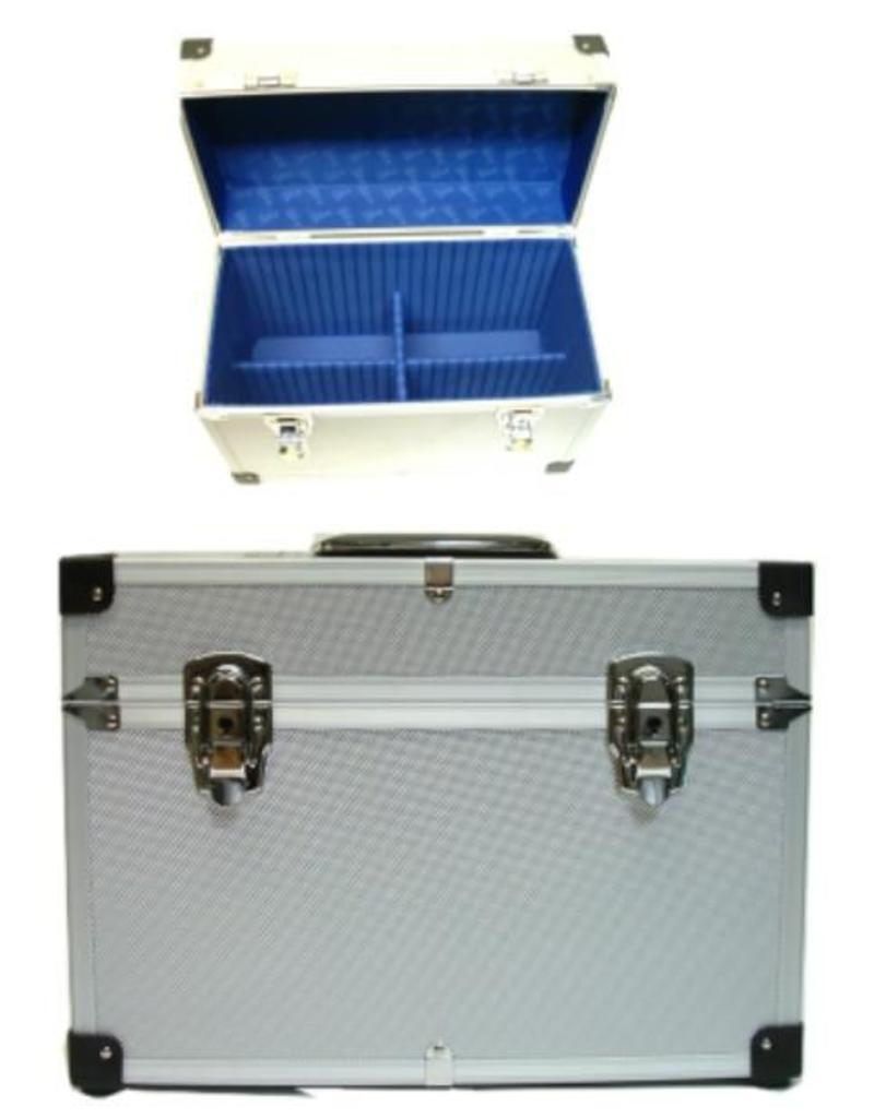 Sibel Beauty Case Alu  Zilver b38xd20xh27cm