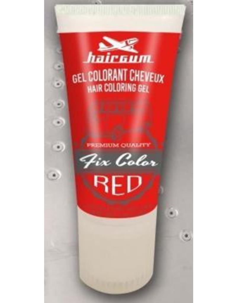 Fix Color Hairgum Kleur Gel 30ml. tube Rood