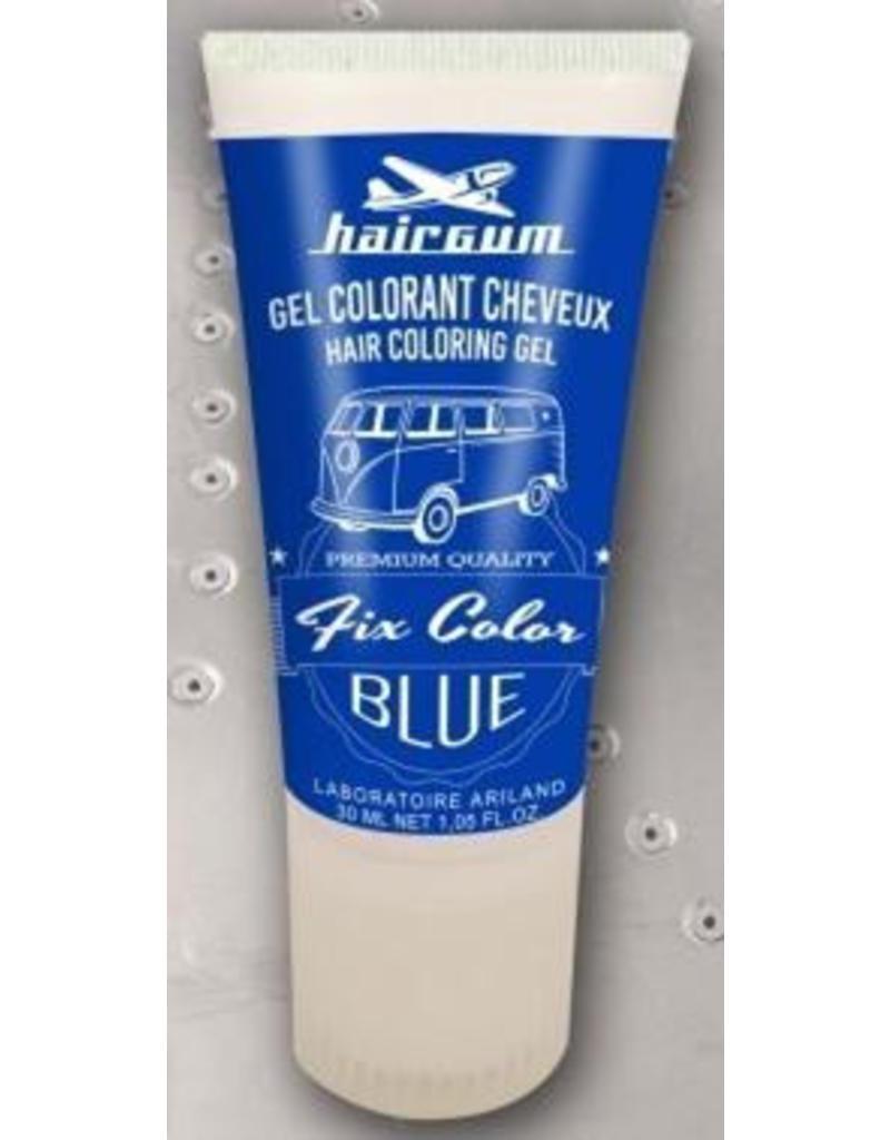 Fix Color Hairgum Kleur Gel 30ml. tube Blauw