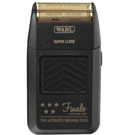Wahl Finale Shaver Lithium black gold cord/cordless
