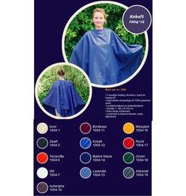 Nebur Kapmantel Groot uni 1004  182x150cm Blauw