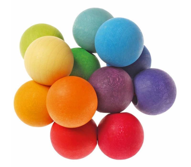 Grimms Toy Grab-Perlen Regenbogen