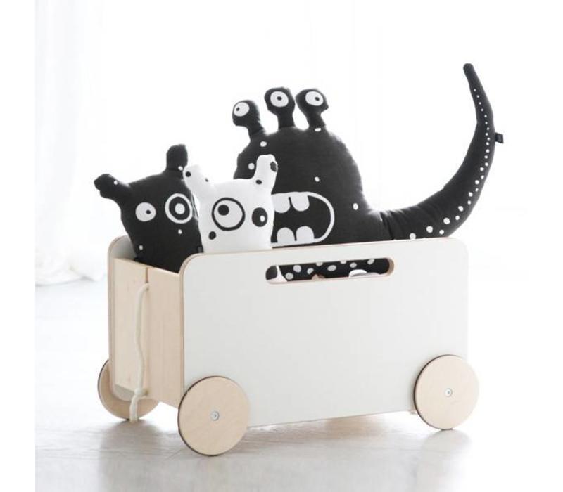 Ooh Noo Spielkiste auf Rädern