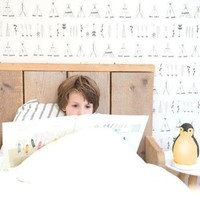 Zazu sleeper penguin pink