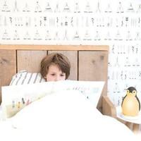 Zazu sleeper penguin gray