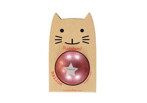 Ratatam glitterbal roze small