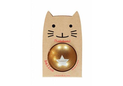 Ratatam glitter ball gold small