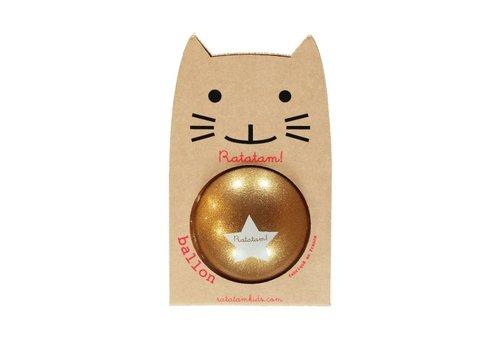 Ratatam glitter ball gold large