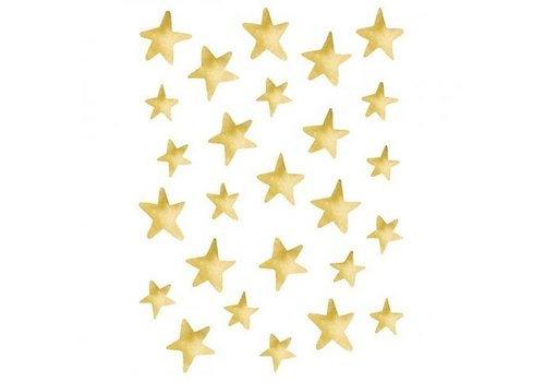 Lilipinso stickers stars gold effect