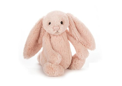 Jellycat hug Bashful bunny blush medium