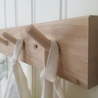 Iris Hantverk coat rack with 2 hooks
