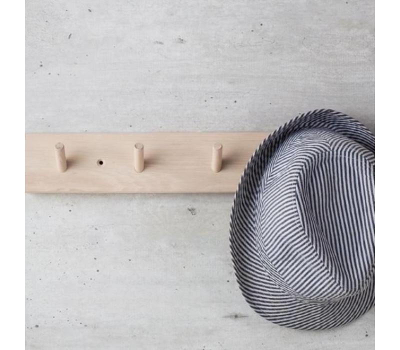 Iris Hantverk coat rack with 4 hooks