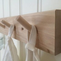 Iris Hantverk coat rack with 7 hooks