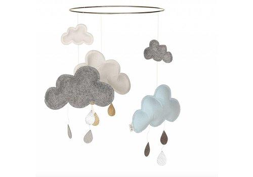 Konges Sløjd mobile cloud blue