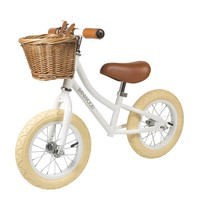 Banwood walking bike first go! white