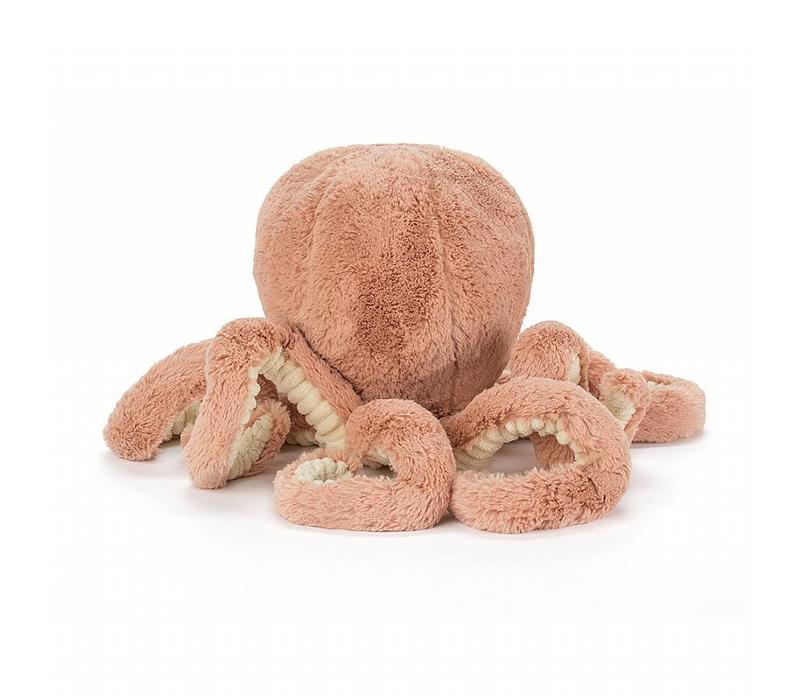 Jellycat knuffel odell little octopus