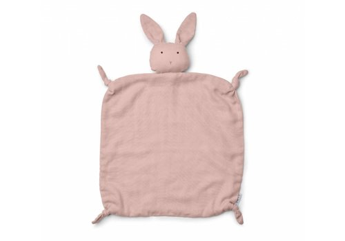 Liewood cuddly blanket rabbit rose