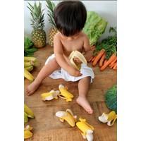 Oli & Carol bijt- & badspeelgoed banaan
