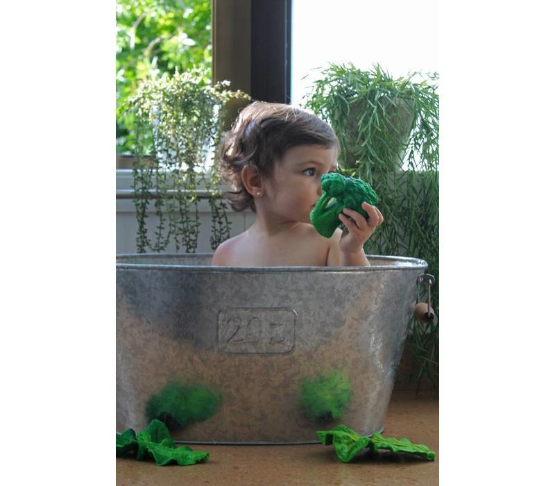 Oli & Carol beißen & Badespielzeug Brokkoli