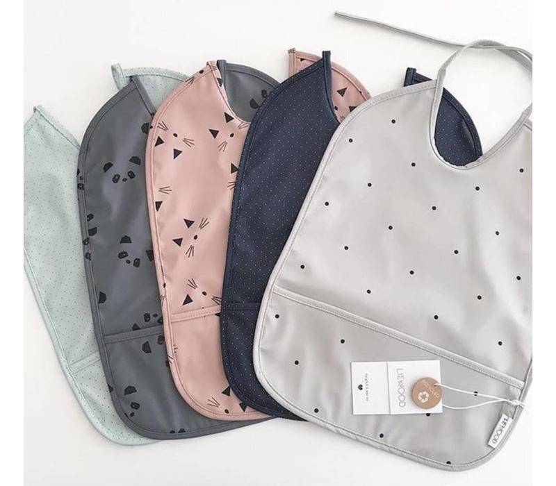 Liewood Lai bib dot dumbo gray