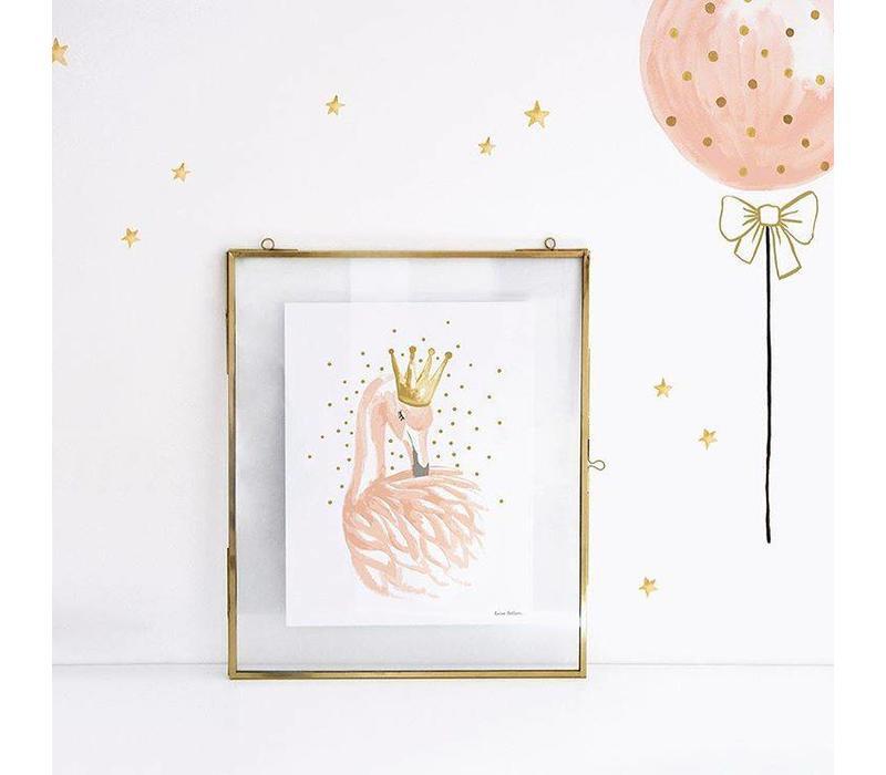 Lilipinso Aufkleber Sternchen Goldeffekt