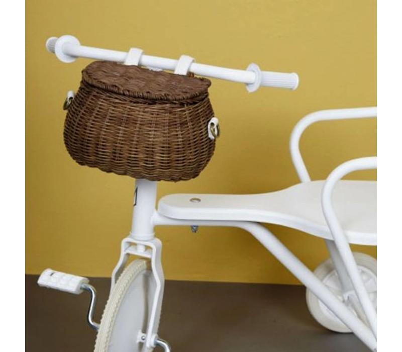 Olli Ella bicycle basket natural