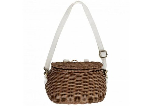 Olli Ella bicycle basket natural