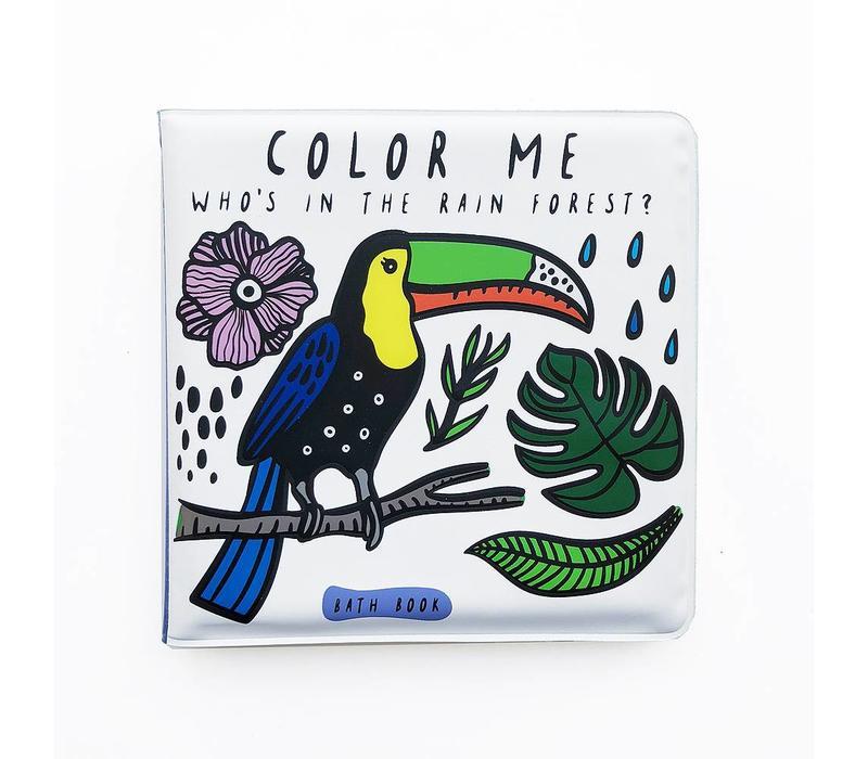 Wee Gallery badboekje - Wie speelt er in de regen?