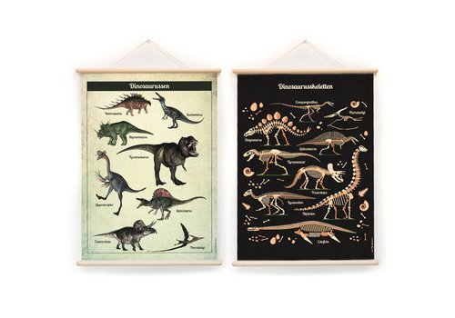 Little & Pure Talkboards Dinos 50 x 70